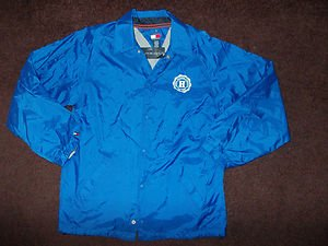 Blue Long sleeve jacket coat Boys Blue Tommy Hilfiger Athletics zip up jacket XL