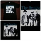 THE SMITHS black short sleeve Rock Band T shirt Retro 80's Tee THE SMITHS S-XL