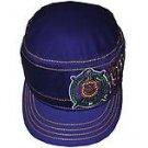 OMEGA PSI PHI PURPLE GOLD  BASEBALL CAP PURPLE OMEGA PSI PHI CADET CAP HAT