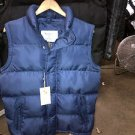Blue sleeveless down vest Blue Sleeveless Bubble Vest Casual Vest jacket S-3X