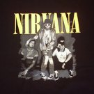 NIRVANA Black short sleeve T shirt NWOT S-3XL 80'S Tee Nirvana album cover Tee