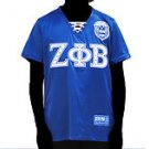 Zeta Phi Beta Blue Short sleeve jersey Z PHI B Blue short sleeve Jersey S-3X