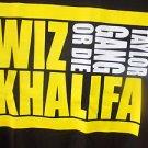 Wiz Khalifa short sleeve T-shirt Black short sleeve Taylor Gang T shirt S-XL