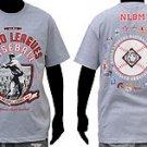 Negro League Baseball T shirt Gray Negro League short sleeve T shirt  L-5X