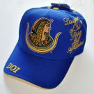 Daughters of Isis Blue White Baseball Cap D.O.I Masonic Mason Cap Egypt cap
