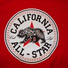 California All-star red short sleeve T shirt California Life T shirt S-2X NWOT