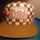 Drunkmunky pink white Snapback Trucker Hat Baseball Cap One