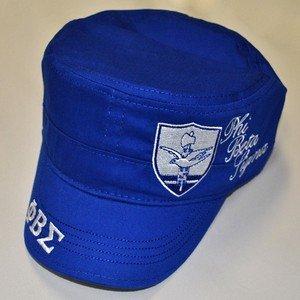 PHI BETA SIGMA MILITARY STYLE CAPTAINS CADET CAP HAT 1914 PHI BETA SIGMA HAT