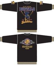 Buffalo Soldiers long sleeve Sweater Buffalo Soldier black Sweater shirt XL