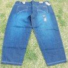 CLENCH blue denim jean pants Men's Blue Big & Tall blue jean pants 54WX33L NWT
