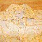Banana Republic yellow Long sleeve button up shirt Mens Dress Casual shirt M