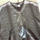 Mens Black SIeeveless V neck sweater by DOCKERS NWOT 2XL Black V neck sweater