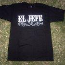 EL JEFE Black short sleeve T shirt THE BOSS EL JEFE short sleeve T Shirt M-2X