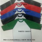 PRO CLUB White Royal Blue Long sleeve baseball T shirt  BASEBALL TEE  S-2X