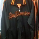 San Francisco Track Jacket Black San Francisco Long Sleeve track jacket L-3XL