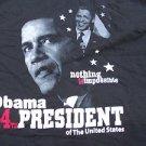 President Barack Obama short sleeve T shirt  Barack Obama T shirt 2XL