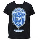 ZETA PHI BETA Black short sleeve T shirt Zeta Phi Beta Sorority T shirt S-4X NWT