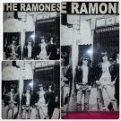 The Ramones Black short sleeve T shirt 80'S Tee The Ramone short sleeve Tee S-XL