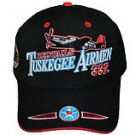 TUSKEGEE AIRMAN BLACK BASEBALL CAP HAT TUSKEGEE AIRMEN BLACK BASEBALL HAT NWT
