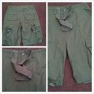 Olive Green cargo shorts  walking casual cargo shorts Cargo Shorts 34W-42W NWOT