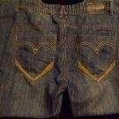 Mens blue denim jean pants Sacred Cult blue denim pants 34Wx32L Blue Jean Pants