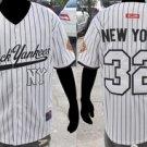 New York Black Yankees short sleeve Negro League Baseball Jersey NWT M-5XL WHITE