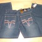 Mens blue denim jean pants by KARIZMA W36X32L Mens blue denim jeans NWT