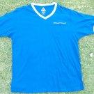 Royal Blue short sleeve pocket V neck T-Shirt short sleeve cotton V-Neck  XL