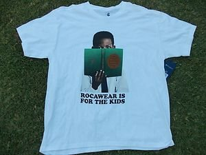 ROCAWEAR white short sleeve T shirt Rocaware  white short sleeve Tee shirt M-XL