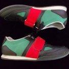 Low Top Sneaker Shoe Cesario Red Black Green Creative Recreation sneakers 10.5