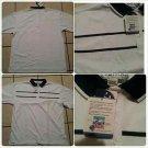 Green White polo shirt short sleeve cotton blend short sleeve polo shirt  S-4X