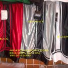 Red Black gym shorts Heavy weight basketball football soccer shorts S-4X