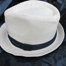Sean John  Mens Straw Fedora Hat Straw Fedora Hat One size fits All