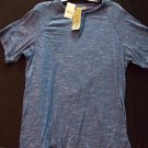 Blue short sleeve casual shirt Signify blue short sleeve T shirt Blue shirt XL