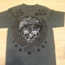 LAST HOLD US ARMY Gray short sleeve vintage design short sleeve T- shirt XL NWOT