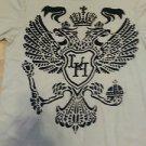 LAST HOLD Cream short sleeve vintage design short sleeve Tee T- shirt XL NWOT