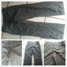 Womens brown cotton pants Willi Smith Dark brown khaki pants 8WX30L