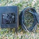 AC ADAPTOR DS-201-AC/ 120V AC 60HZ 8VA Power Supply Adapter Plug Class 2