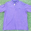 Sean John short sleeve polo short Sean John Vintage style purple polo shirt L