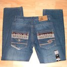 Mens blue denim jean pants by ENYCE W30X30L NWT