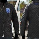 ZETA PHI BETA JACKET 1920 M-4X BLACK Z PHI B ZETA PHI BETA Bubble Jacket COAT