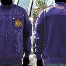 OMEGA PSI PHI PURPLE JACKET 1911 L-5X Q DOG Bubble Jacket OMEGA PSI PHI COAT