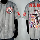 Mens Negro League Baseball Jersey NLBM Commemorative Baseball Jersey  M-5X BLK