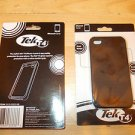 Black iPhone 4 Cover Tek T4 Black Silicone Cell Phone Cover for iPhone4 Cover