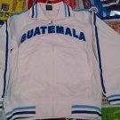 Guatemala Track Jacket Royal White Blue Guatemala long sleeve track jacket L-2X