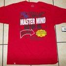 AKADEMIKS RED SHORT SLEEVE T SHIRT  Akademiks Master mind motor oil T shirt 2X