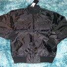 Mens black long sleeve jacket by ZEEP black long sleeve casual coat L XL NWT