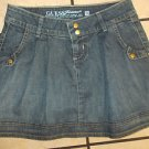 GUESS JEANS blue denim jean skirt GUESS JEANS Mini Skirt Womens Mini Skirt SZ 24