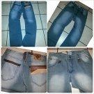 Brooklyn Express Vintage Gray jean pants Mens Gray denim jean pants 34Wx32L