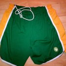 HARDWOOD CLASSIC BOSTON CLETICS BASKETABALL SHORTS Vintage Sports Shorts 2X 36W
